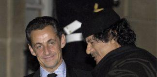 Никола Саркози, Муамар Кадафи