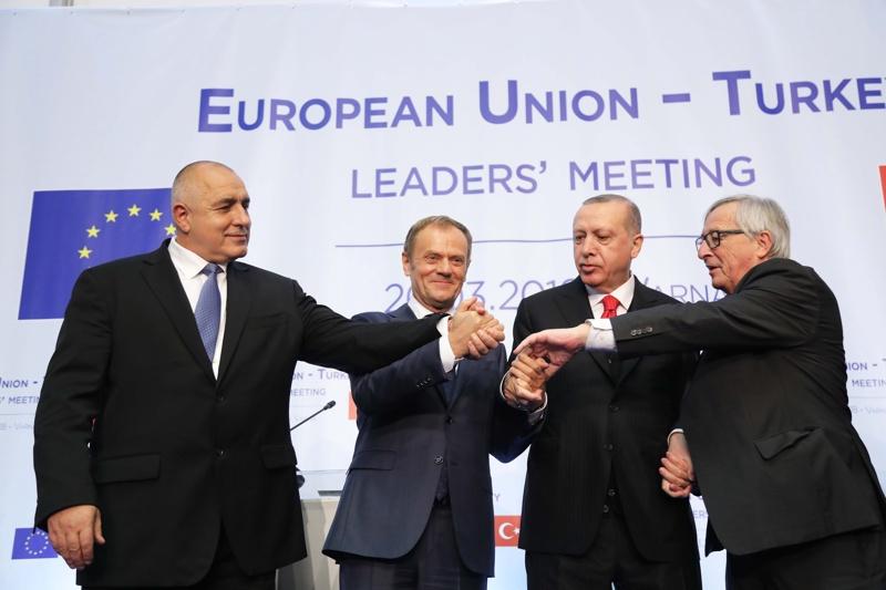 Борисов, Туск, Юнкер, Ердоган