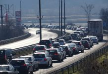 трафик, коли, транспорт