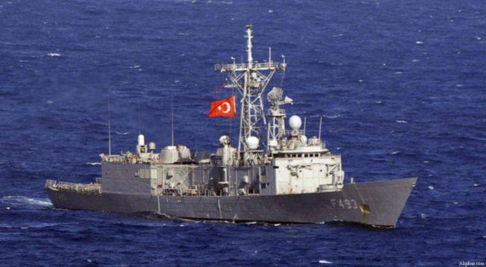 Турски боен кораб