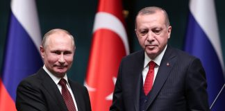 Ердоган и Путин