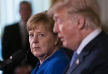 Ангела Меркел, Доналд Тръмп