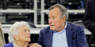 Джордж и Барбара Буш