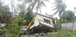 Разрушения във Фиджи след циклон