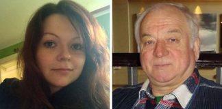 На снимката: Юлия и Сергей Скрипал