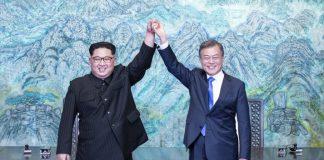 Ким Чен-Ун, Мун Дже Ин