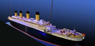 """Най-голямото копие на """"Титаник"""" от части """"Лего"""""""