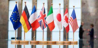 Г-7 обмислят нови санкции срещу Русия