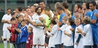 """Легендарният халф на """"скуадра адзура"""" Андреа Пирло изигра последния си мач. Бившата звезда на Бреша, Интер, Милан и Ювентус"""