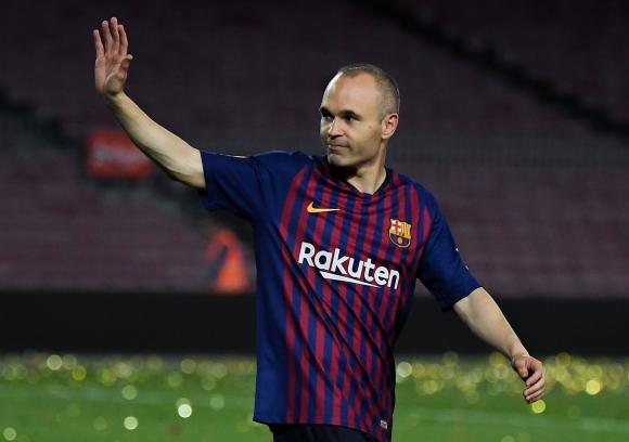 Халфът на Барселона Андрес Иниеста снощи изигра последния си мач за тима. Той записа 82 минути на терена в срещата с Реал Сосиедад от