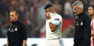 Звездата на Олимпик (Марсилия) и френски национал Димитри Пайет може да пропусне Световното първенство по футбол в Русия през следващия месец заради контузия.