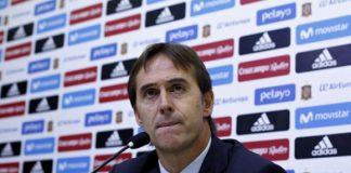 Селекционерът на Испания Юлен Лопетеги официално обяви списъка от 23-ма футболисти за предстоящото Световно първенство. Алваро Мората остана извън