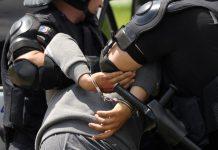 арест, белезници