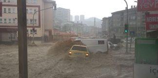 Анкара, наводнение