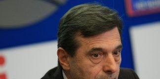 """на снимката: Президентът на КТ """"Подкрепа"""" Димитър Манолов"""