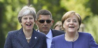 Меркел, Мей