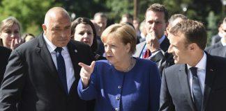 Борисов, Меркел, Макрон