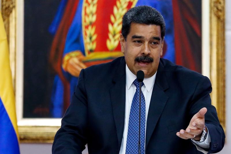 на снимката: Настоящият президент на Венецуела Николад Мадуро