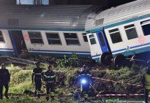Италия, влак, инцидент
