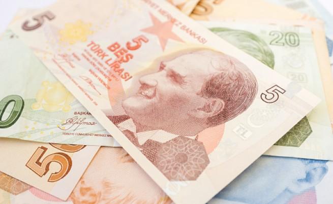 турска лира, обезценяване