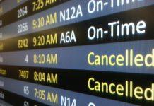 полет, отменен, самолет