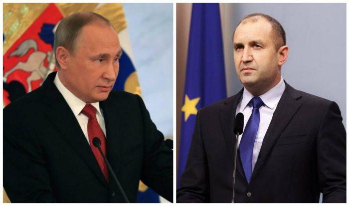 Владимир Путин, Румен Радев