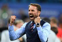 """Селекционерът на английския национален тим Гарет Саутггейт се контузи по време на тренировка, след като """"Трите лъва"""" започнаха с трудн"""