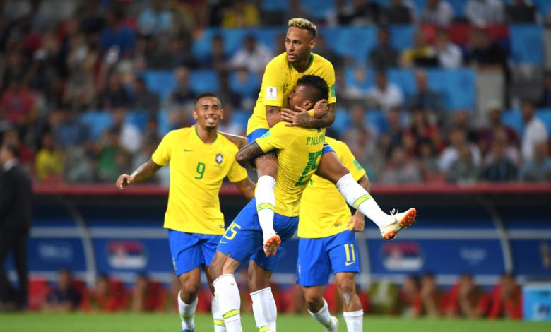 Бразилия победи Сърбия с 2:0 в последен мач от груповата фаза на Мондиала в Русия.
