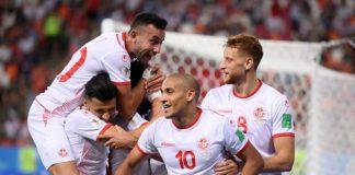 """Тунис спечели на изпроводяк последната си среща от Група """"G"""" на Мондиала срещу Панама с 2:1. И трите попадения в срещата бяха дело на """""""