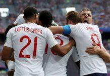 """Англия разкъса дебютанта на Мондиал 2018 - Панама. """"Трите лъва"""" спечелиха срещата с 6:1, а това бе най-голямата им победа на Мондиал. Хари"""