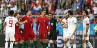 Действащият европейски шампион Португалия си поигра с огъня, но в крайна сметка се класира на 1/8-финалите на Мондиал 2018. Кристиано Р
