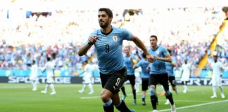 """Отборът на Уругвай стана вторият осминафиналист на Мондиал 2018 след Русия. Преди минути """"урусите"""" записаха втори успех в своята гр"""