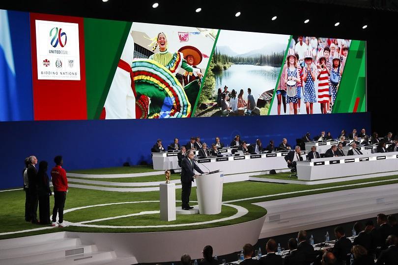 САЩ, Канада и Мексико ще приемат мачовете от Световното първенство през 2026 година. Това решение бе взето по време на 68-ия конгрес на ФИФА
