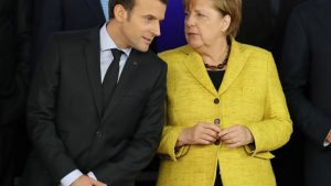 Макрон, Меркел