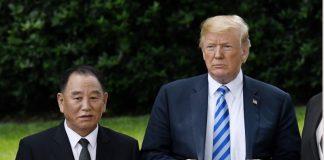 Доналд Тръмп, Ким Йон Чол