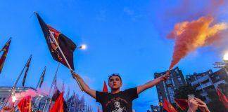 Македония, протест, опозиция