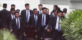 делегацията на Северна Корея