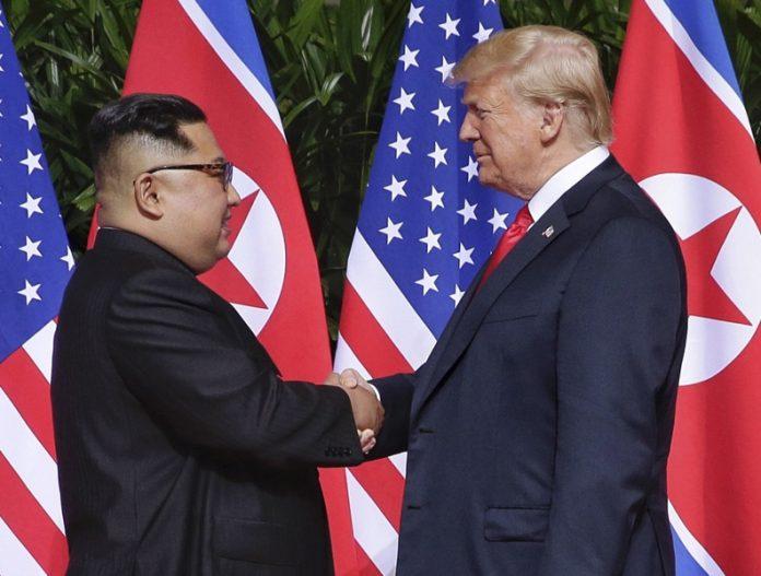 Доналд Тръмп, Ким Чен-Ун, план