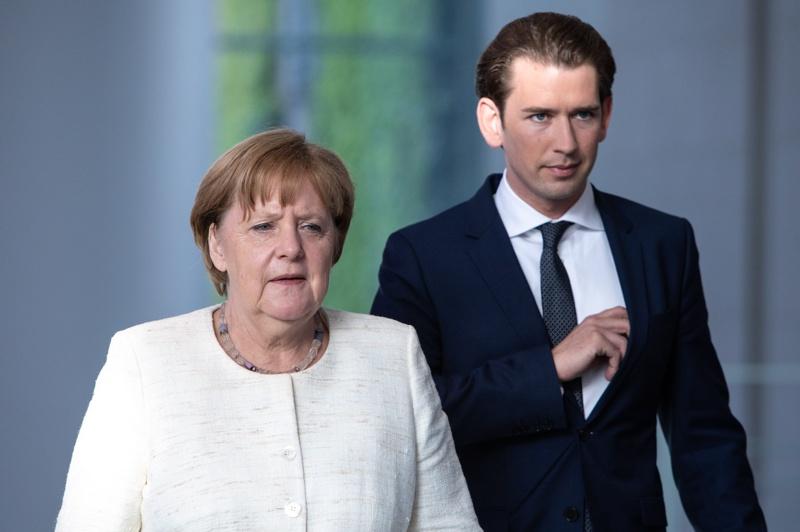 Ангела Меркел, Себастиан Курц