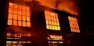 пожар Гласгоу