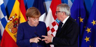 Меркел, Юнкер