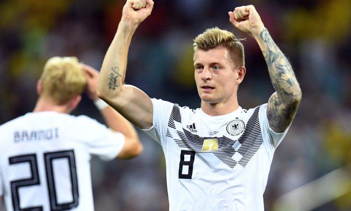 Soccer: World Cup-Germany vs Sweden