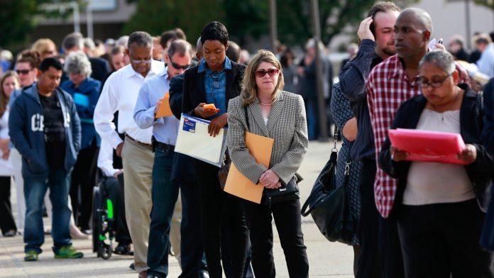 безработица, САЩ