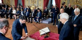 Италия, правителство, Конте