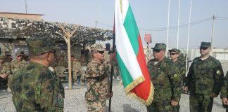 """На официална церемония в Кандахар, Афганистан 36-ят български военен контингент прие изпълнението на задачите в мисията на НАТО """"Решителна п"""