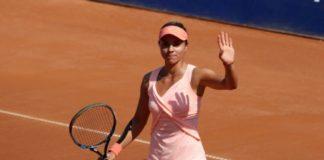 """Виктория Томова призна, че е била леко притеснена в началото на мача със Серина Уилямс, от която загуби с 1:6, 4:6 в среща от втория кръг на """""""