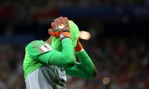 Драматичният осминафинал на Мондиал 2018 между Хърватия и Дания изравни антирекорд в историята на световните първенства. За пет