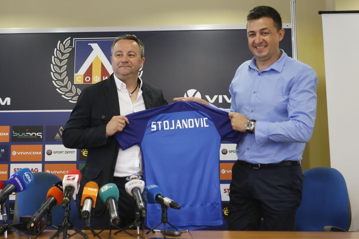 Новият треньор на Левски Славиша Стоянович е амбициран под негово ръководство