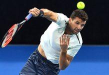 """Григор Димитров запази шестата си позиция в световната ранглиста на АТР, въпреки ранното си отпадане на """"Уимбълдън"""". Българинът има актив от 46"""