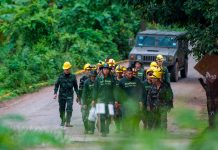 Тайланд, спасителна акция